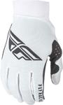 Fly Racing MX Motocross Pro Lite Gloves (White)