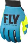 Fly Racing MX Motocross Women's Pro Lite Gloves (Blue/Hi-Vis)