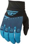 Fly Racing MX Motocross F-16 Gloves (Blue/Black/Hi-Vis)