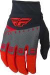 Fly Racing MX Motocross F-16 Gloves (Red/Black/Grey)