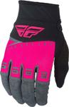 Fly Racing MX Motocross F-16 Gloves (Neon Pink/Black/Grey)
