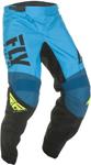 Fly Racing MX Motocross Boys Youth F-16 Pants (Blue/Black/Hi-Vis)