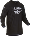 Fly Racing MX Motocross Universal Jersey (Black)