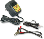 TecMate OptiMate AccuMate 6V to 12V Mini 3-step Smart Battery Charger-Maintainer TM-84