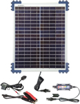 TecMate OptiMate Solar Battery Pulse Charger, Tester & Maintainer w/20W Solar Panel TM522-2