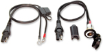 TecMate OptiMate Weatherproof Metal Body DIN Socket Battery Cable/Lead BMW, Triumph, Victory O18