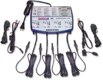 TecMate OptiMate 3 Battery Saving Charger-Tester-Maintainer 4 Bank 7-Step 12V 0.8A TM455