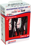 TecMate OptiMate Quick Connect Weatherproof Battery Cable w/15A Fuse (4 Pack) O1X4