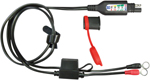 TecMate OptiMate Lead w/Integrated Status/Charge System Monitor for 12V Lead-Acid Batteries O128