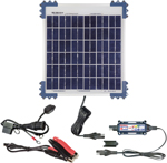 TecMate OptiMate 10W Solar Pulse Charger, Tester & Maintainer for 12V batteries TM522-1