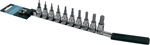CruzTOOLS 10-Piece Hex Socket Bit Set - Inch (IN38HBS)