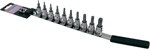 CruzTOOLS 10-Piece Star Socket Bit Set (TX38TBS)