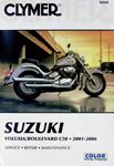Clymer Repair Manual for Suzuki Volusia 2001-2004 / Boulevard C50 (2005-2017)
