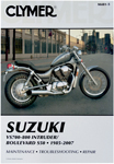 Clymer Repair Manual for Suzuki VS700, VS750, VS800 Intruder VS800/S50 Boulevard S50 M481-6