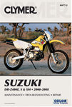 Clymer Repair Manual for DR-Z400E, DR-Z400S and DR-Z400SM (2000-2012)