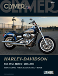 Clymer Repair Manual for Harley-Davidson FXD Dyna Series (2006-2011)