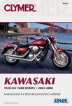 Clymer Repair Manual for Kawasaki Vulcan 1600 Series (2003-2008)