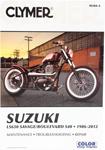 Clymer Repair Manual for Suzuki LS650 Savage Boulevard S40 (1986-2012)