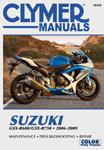 Clymer Repair Manual for Suzuki GSX-R600 & GSX-R750 (2006-2009)