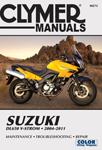 Clymer Repair Manual for Suzuki DL650 V-Strom (2004-2011)