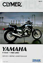 Clymer Repair Manual for Yamaha Vmax V-Max 1985-2003