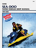 Clymer Repair Manual for Sea-Doo Personal Watercraft, 1997-2001
