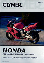 Clymer Repair Manual for Honda CBR900RR 1993-1999, FIREBLADE 1993-1999 [U.K.]