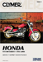 CLYMER Repair Manual for Honda Shadow Spirit, Sabre, Aero, American Classic Tourer