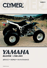 Clymer Repair Manual for Yamaha Blaster YFS200 1988-2005
