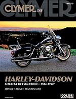 Clymer Repair Manual for Harley-Davidson FLH/FLT/FXR Evolution 1984-1998