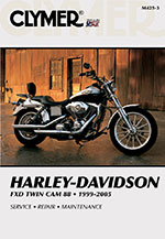 Clymer Repair Manual for Harley-Davidson FXD Twin Cam 88 1999-2005