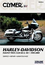 Clymer Repair Manual for Harley-Davidson FLH/FLT Twin Cam 88, 103 1999-2005
