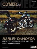 Clymer Repair Manual for Harley-Davidson FLS/FXS Twin Cam 88B, 95B, 103B 2000-2005