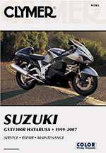Clymer Repair Manual for Suzuki GSX1300R Hayabusa Busa 1999-2007