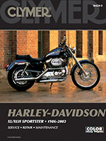 Clymer Repair Manual for Harley Davidson XL/XLH Sportster 1986-2003
