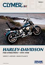 Clymer Repair Manual for Harley-Davidson FXD Evolution 1991-1998