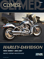Clymer Repair Manual for Harley-Davidson VRSC Series 2002-2007