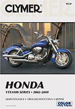 Clymer Repair Manual for Honda VTX1800 Series, 2002-2008