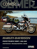 Clymer Repair Manual for Harley-Davidson FLH/FLT Touring Series 2006-2009