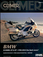 Clymer Repair Manual for BMW K1200RS 1998-2005/K1200GT 2003-2005/K1200LT 1999-2010