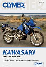 Clymer Repair Manual for Kawasaki KLR650 KLR 650 2008-2012 (M240)