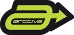 ARCTIVA Snow Snowmobile 4 inch A LOGO Die-Cut Vinyl Decal/Sticker (Green/Black)