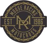 Moose Racing MEDALLION Decal/Sticker