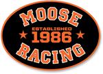Moose Racing MX Off-Road 2018 COLLEGIATE Decal/Sticker (Black/Orange)