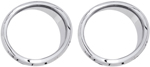 CIRO Chrome Front Speaker Accents  (Chrome) 42105