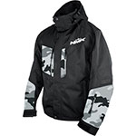 HMK Maverick Snowmobile 3-in-1 Jacket (Black/Camo)
