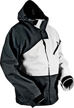 HMK Hustler 2 Snowmobile Jacket (Black/White)