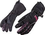 DIVAS Snow Gear CRAZE Insulated Snowmobile Gloves (Black)