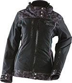 DIVAS Snow Gear LACE Insulated Snowmobile Jacket (Black)