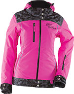 DIVAS Snow Gear LACE Insulated Snowmobile Jacket (Pink)